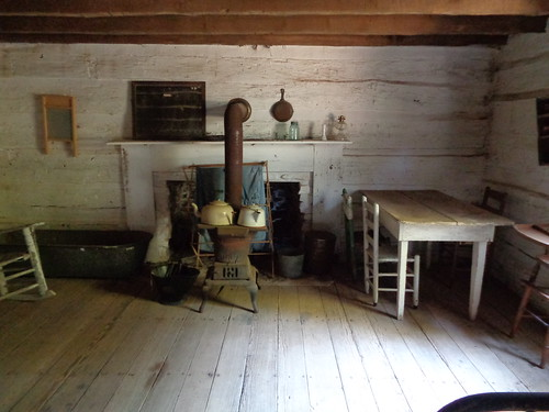 Dogtrot Cabin at Gen Joe Wheeler Homeplace, Hillsboro AL