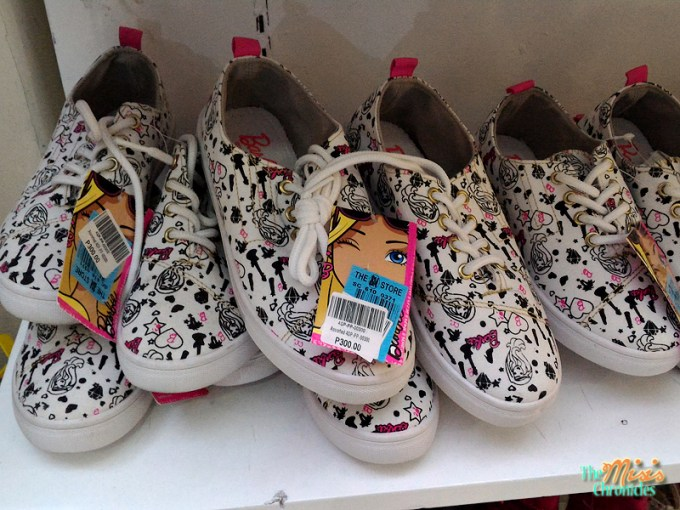 barbie sneakers
