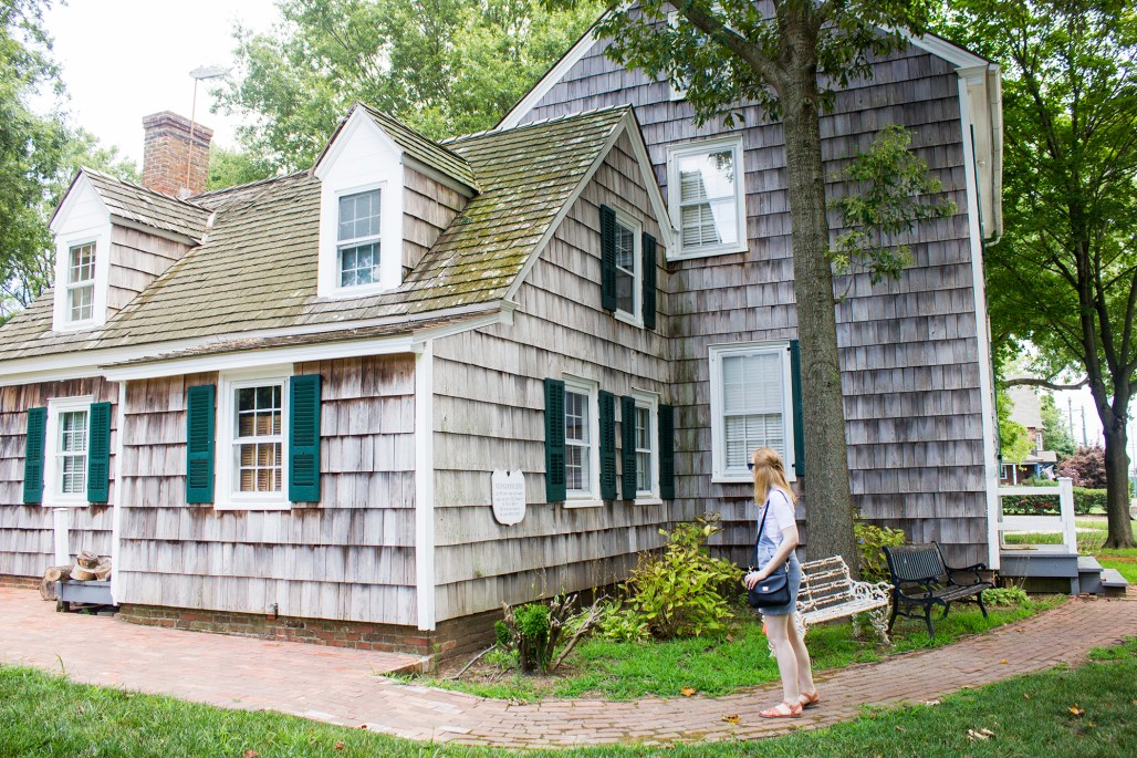 delaware-lewes-hisotirc-house-clapboard