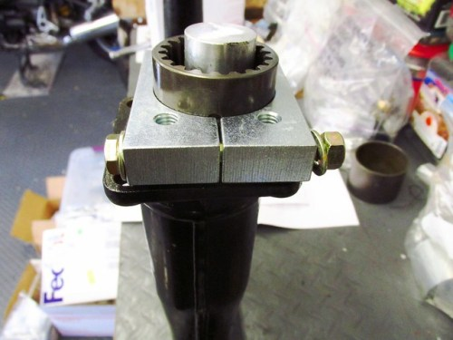 Assembling Cycle Works Drive Shaft Bell Housing Removal Tool