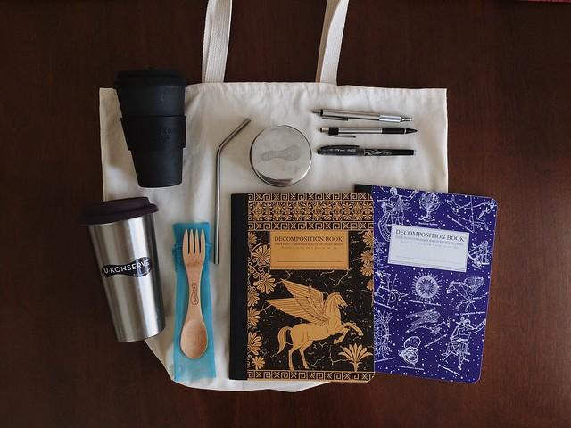 Zero-Waste + Minimalist Office Supply/School Supply Guide