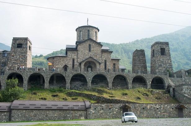 Аланский Успенский мужской монастырь (Фиагдонский)