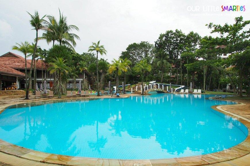 Adult Pool at Bintan Lagoon Resort