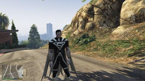 GTA 5 - Blackest Light Superman
