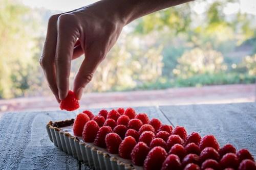 adding the last raspberry