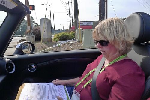 Laura Navigating