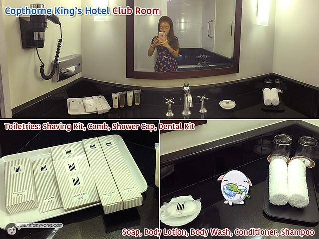 Copthorne Kings Hotel Club Room Bathroom