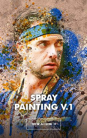 Mix Oil Painting Photoshop Action - 25