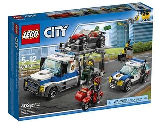 LEGO City Auto Transport Heist (60143) box