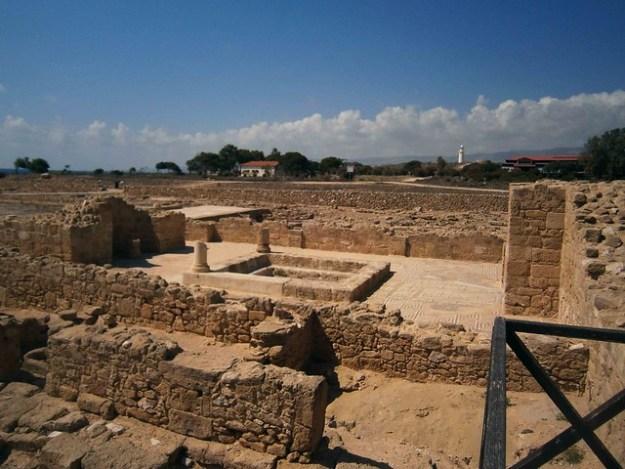 Ruins At Paphos