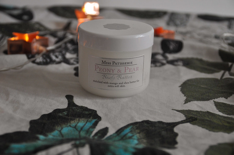 Peony and pear body butter review miss patisserie