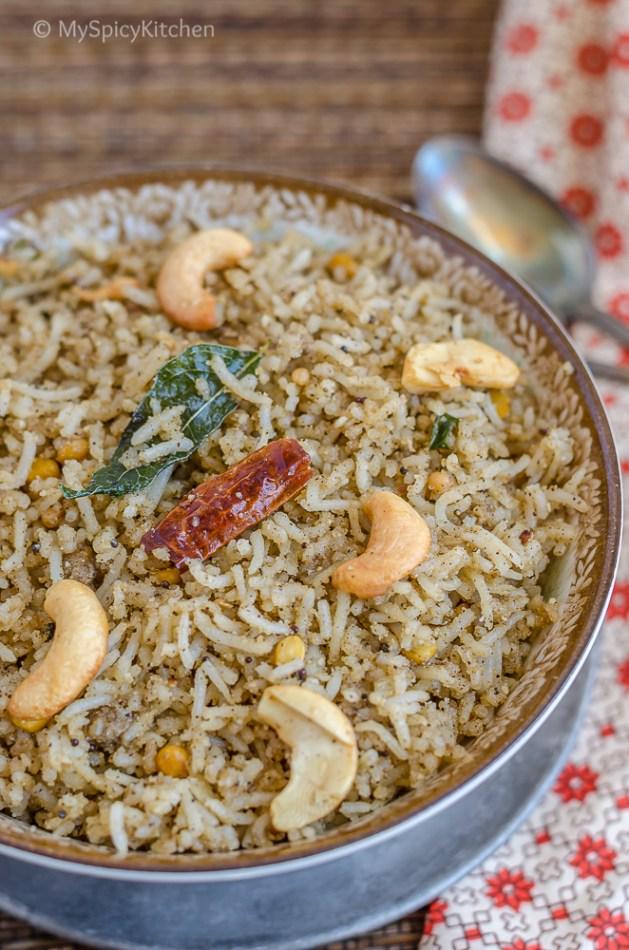 Black Gram Dal Rice, Black Gram Rice, Urad Dal Rice, Ulundu Rice, Blogging Marathon, Fried Rice, Masala Rice, South Indian Food, South Indian Rice, Indian Food, Tamil Food, Tamil Cuisine,  Minapappu Annam, Ulundu Sadam