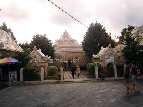 Entrance to Taman Sari