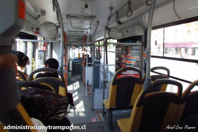 Transantiago - 106   Alsacia   Marcopolo Gran Viale - Volvo (Biportal) / FLXH55