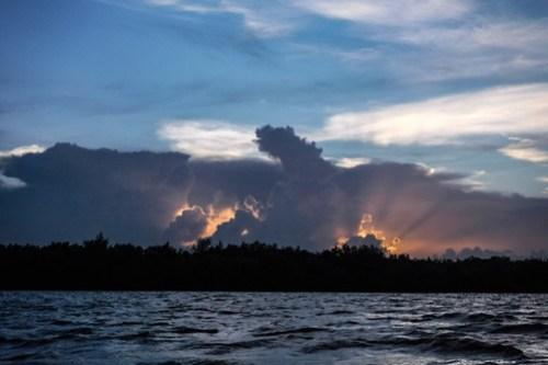 Indian River Sunset Kayaking-7