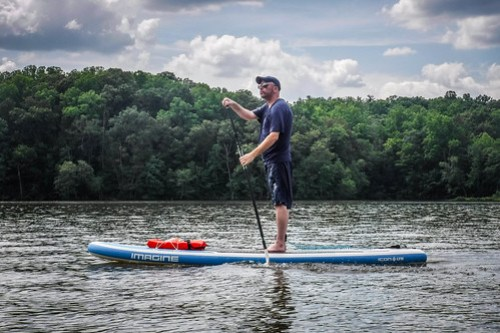 Kayaking and SUP on Saluda Lake-38
