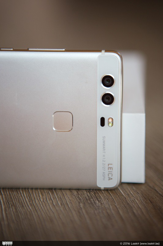 Huawei P9 beschickt over 2 lenzen co-engineered by Leica!