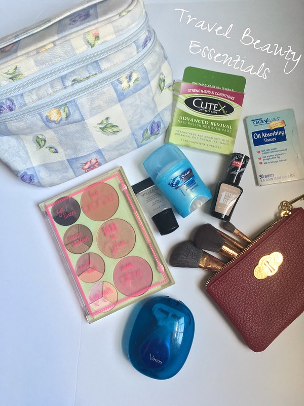 Travel Beauty Essentials | Shades of Sarah