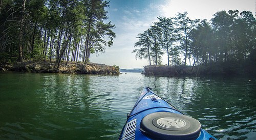 Lake Jocassee Kayaking-40