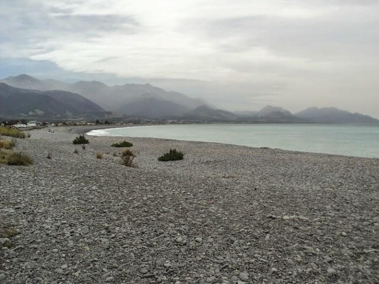 Kaikoura Beach, South Island, New Zealand - the tea break project solo female travel blog