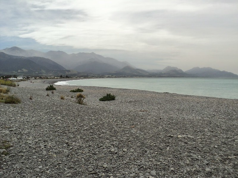 Kaikoura Beach, South Island, New Zealand - the tea break project solo female travel blog