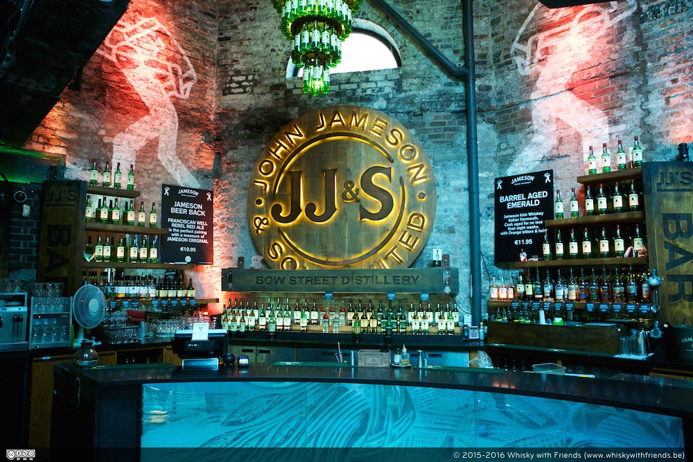 De Bar bij The Old Jameson Distillery