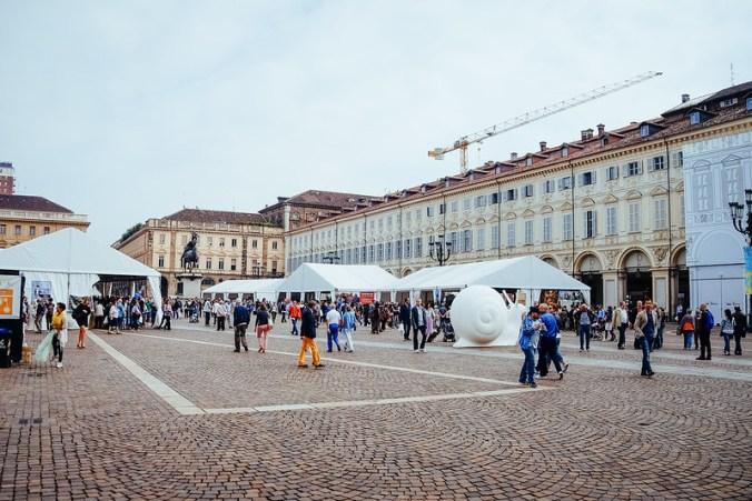 Salone del Gusto 2016: Piazza San Carlo