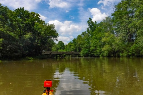Kayaking and SUP on Saluda Lake-23