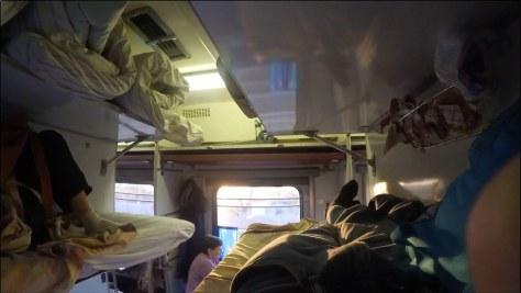 В поезде до Минска