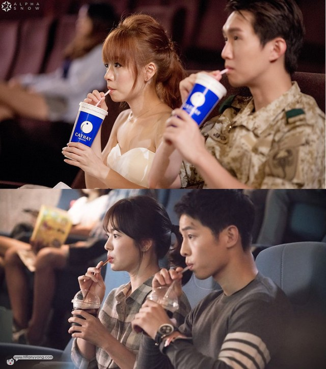 Descendants of the Sun Drama Ep2 Cinema Reyna Hearts