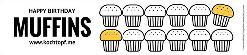 Geburtstags-Blog-Event CXXIV - Muffins (Einsendeschluss 15. Oktober 2016 - Icons made by Freepik from www.flaticon.com)
