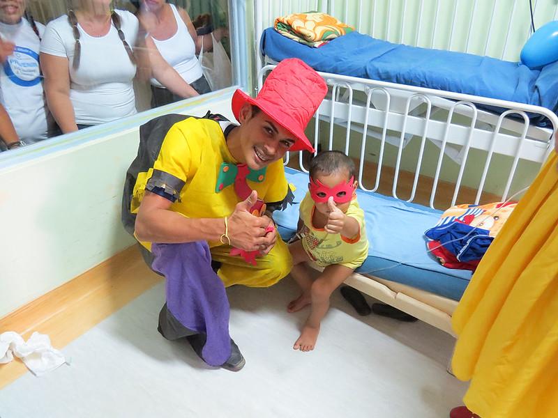 Visita no Hospital da Criança