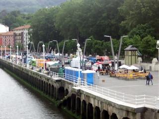 Amstel Bilboro Market, en el Arenal de Bilbao.