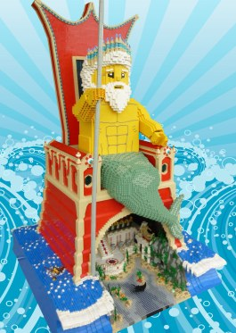 LEGO Poseidon, Guardian of Atlantis