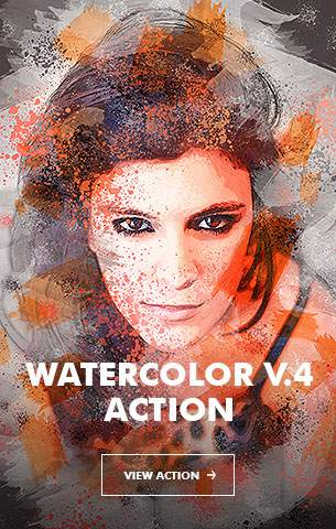 Watercolor V.5 Photoshop Action - 87