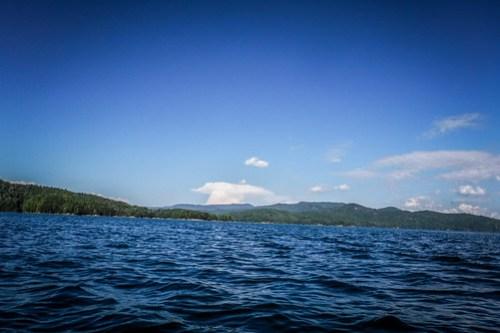 Lake Jocassee with Bennie Waddell-92