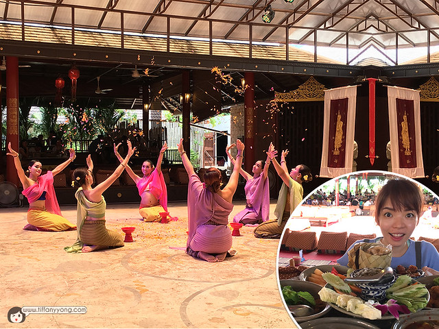 Pattaya Attractions Dining and Performance at Thai Thani Village