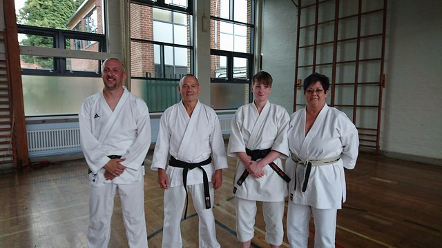 Dan gradings September 2016