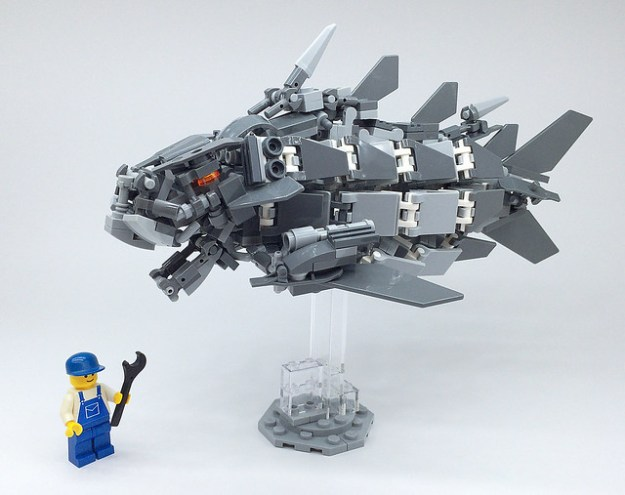 LEGO Mech Ancient fish-08