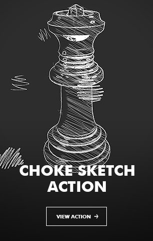 Special Sketch Photoshop Action - 115