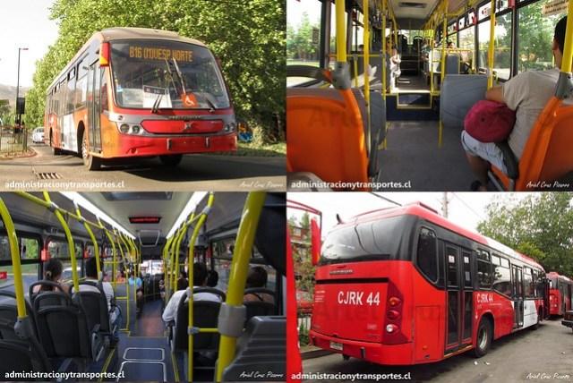 Transantiago | Redbus | Neobus Mega BRT - Volvo
