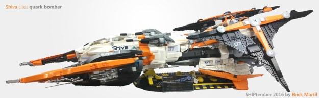 Shiva class quark bomber. Final. Shiptember 2016