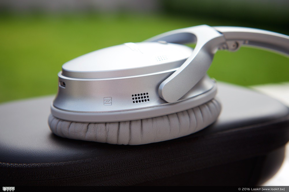 De Bose QuietComfort QC 35 biet noise cancelling technologie in een draadloze hoofdtelefoon