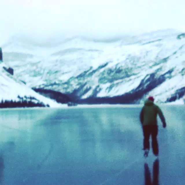 Banff Ice Skating