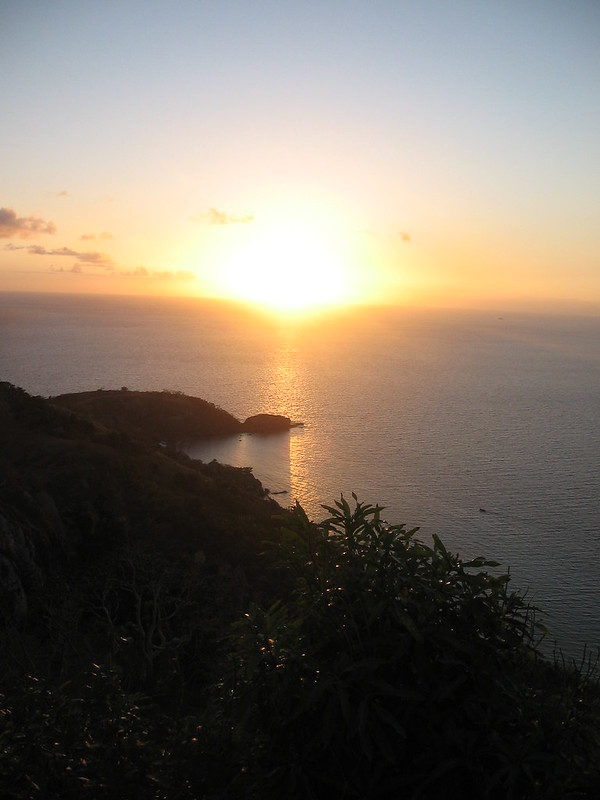Yasawa Islands sunrise, Fiji - the tea break project solo travel blog
