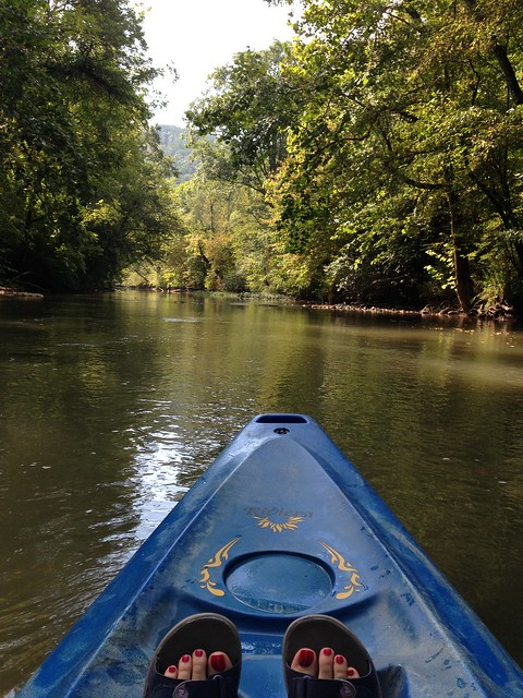 Kayaking Big Wills Creek, Attalla AL