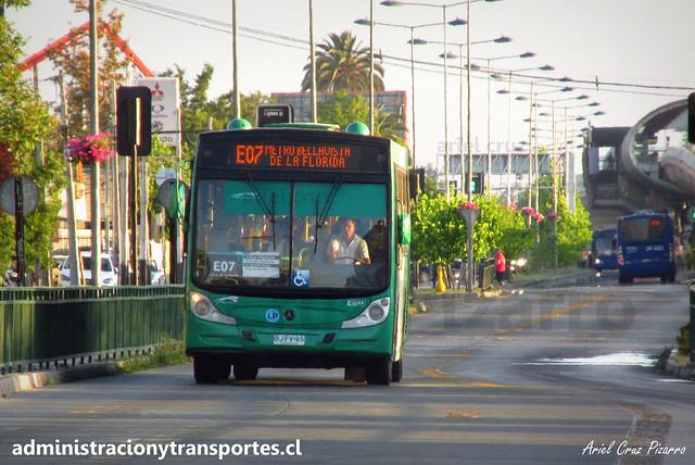 Transantiago | Buses Vule | Caio Mondego H - Mercedes Benz O500U / BJFV95
