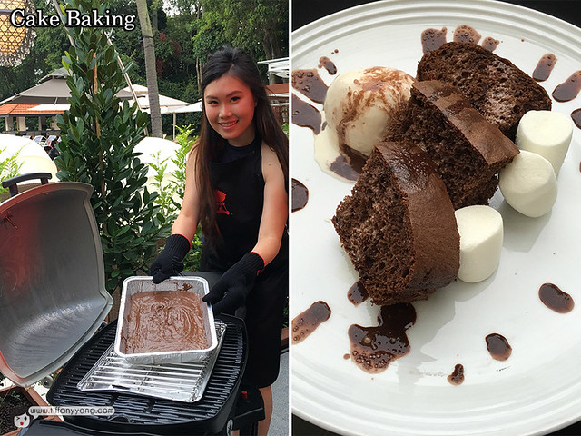 Bake Cake with Weber Grill
