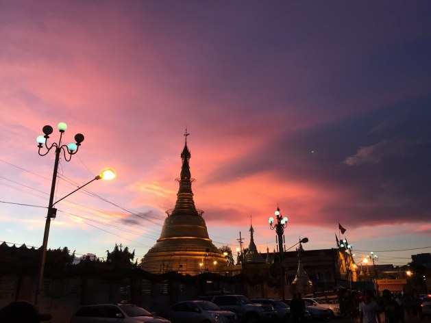 sunset botataung pagoda yangon AlexExplorestheWorld