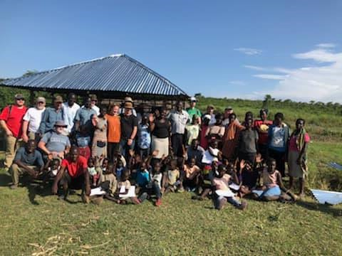 Kenya Photo with kids